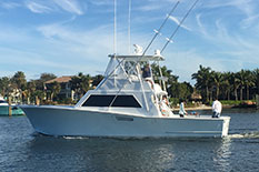 41' Ricky Scarborough charter boat.