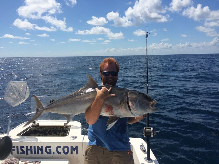 Action action action on a deep sea charter fishing stuart for Fishing charters stuart fl